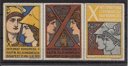 Hongrie - Vignette Budapest 1913 - Neuf ** - TB - Erinofilia