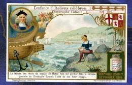 Chromo Liebig S1044 Enfance Childhood Christophe Colomb Christopher Columbus - Liebig