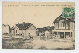 """LACANAU OCÉAN - Avenue De La Chapelle - Villas """"Trianon Et Lepa """" - Autres Communes"""