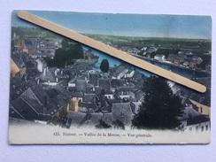 NAMUR Nº 415 « VALLÉE DE LA MEUSE «Vue Générale ,colorisée (1908). - Namur