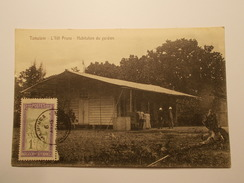 Carte Postale -  MADAGASCAR - L'Ilot Prune - Habitation Du Gardien (1869) - Madagascar