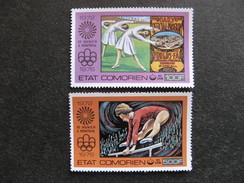 Comores: TB Paire PA N° 108 Et N°109, Neufs XX. - Comores (1975-...)