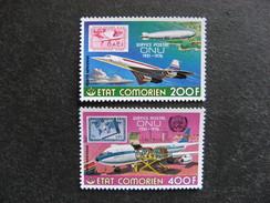 A). Comores: TB Paire PA N° 110 Et N°111, Neufs XX. - Comores (1975-...)