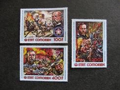 A). Comores: TB Série PA N° 114 Au N°116, Neufs XX. - Comores (1975-...)