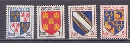 N° 951 Et 954 Armoiries De Provinces: Picardie,Poitou,Champagne,Dauphiné: Timbres Neuf Impecable Sans Cahrnière - Ongebruikt