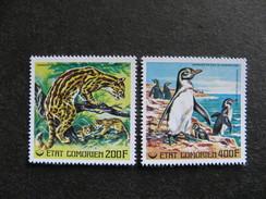 Comores: TB Paire PA N° 119 Et N°120, Neufs XX. - Comores (1975-...)