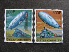 A). Comores: TB Paire PA N° 121 Et N°122, Neufs XX. - Comores (1975-...)