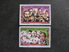 A). Comores: TB Paire PA N° 125 Et N°126, Neufs XX. - Comores (1975-...)