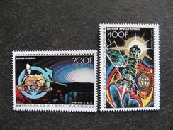 Comores: TB Paire PA N° 134 Et N°135, Neufs XX. - Comores (1975-...)