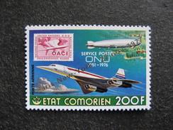 Comores: TB PA N° 136, Neuf XX. - Comores (1975-...)