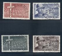 Luxembourg - 1947 - General Patton Set - Cancelled 1st Day Dudelange - Gebraucht