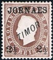 Timor, 1892, # 22 Dent. 12 1/2, MHNG - Timor