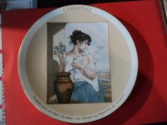 ASSIETTE HAVILAND. 1989. GERMINAL. LIMOGES. REDER EDITION DU BICENTENAIRE - Plates