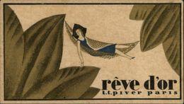 PARFUM - Parfumerie - Rêve Noir - Calendrier 1928 - Autres