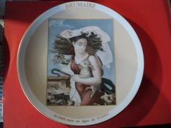 ASSIETTE BRUMAIRE. 1989. LIMOGES. HAVILAND. REDER EDITION DU BICENTENAIRE DE - Plates
