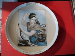 ASSIETTE FRIMAIRE. 1989. HAVILAND. LIMOGES. REDER EDITION DU BICENTENAIRE DE LA - Plates