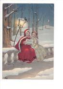 17906 - Buon Anno Bambini Deux Lutins Chantant (format 10 X 15) - Nouvel An