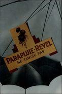 PARAPLUIES - Ombrelle - Parapluie Revel - Carte Publicitaire - Publicité