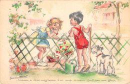 GERMAINE BOURET- VOISINE SI VOUS AVEZ BESION D'IN COUP DE MAIN FAUT PAS VOUS GÊNER .... - Bouret, Germaine