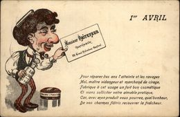 PARFUM - Parfumerie - Parfumeur Paitefaur - 1er Avril - Publicité