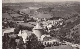 Cp , 15 , CHAUDES-AIGUES , Station Thermale (alt. 751 M.), Vue Aérienne - Altri Comuni