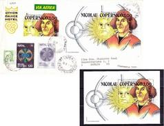 Sao Paulo, Brasilien 1973, Brief Nach Berlin, Copernico, Michel: € 60 - Brasilien
