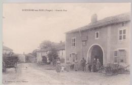 CPA. BOUXIERES Aux BOIS Grande Rue - Autres Communes