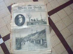 Militaria.1914/1919  Journal De Guerre Allemand WELT IM BILD  24mars  1915ecrit En Plusieurs Langues *** - Deutsch