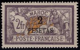 Maroc - Type Merson Surchargé - N° 17 Neuf Avec Charnière. - Nuovi