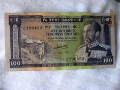 Ethiopie: 100 $ET 1966 - Ethiopia