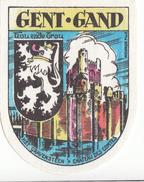 ECUSSON TISSU   GENT - GAND  (7 X 9 Cm) - Scudetti In Tela