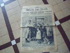 Militaria.1914/1919  Journal De Guerre Allemand WELT IM BILD  26 Avril 1916  Ecrit En Plusieurs Langues - Zeitungen & Zeitschriften