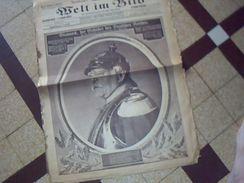 Militaria.1914/1919  Journal De Guerre Allemand WELT IM BILD 31  Mai 1916  Ecrit En Plusieurs Langues - Deutsch