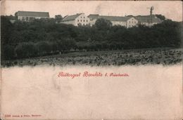 ! Alte Ansichtskarte Rittergut Baselitz Bei Priestewitz, Windrad, Sachsen, Verlag Brück & Sohn - Allemagne