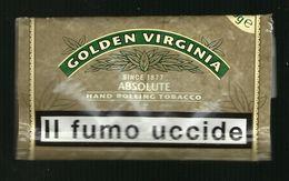 Busta Di Tabacco - Golden Virginia Da 50g - Etichette