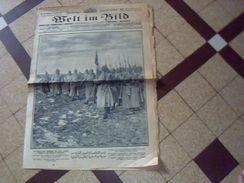 Militaria.1914/1919  Journal De Guerre Allemand WELT IM BILD 29 Decembre I  1915  Ecrit En Plusieurs Langues - Deutsch