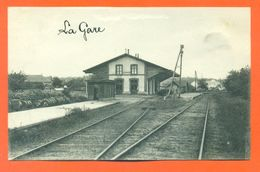 """CPA 72 Tuffé """" La Gare """" LJCP 51 - Tuffe"""