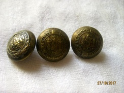 Ethiopia: Boutons De L'académie Militaire De Debre Zeit / Military Academy (à La Pièce) - Buttons