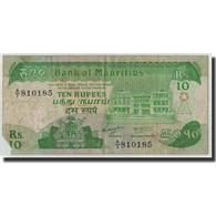 Mauritius, 10 Rupees, Undated (1985), KM:35a, B - Maurice