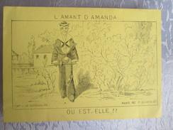L Amant D Amanda ; Ou Est T Elle - Old Paper