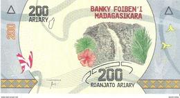 Madagascar - Pick New - 200 Ariary 2017 - Unc - Madagascar