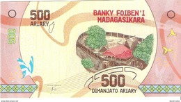 Madagascar - Pick New - 500 Ariary 2017 - Unc - Madagascar