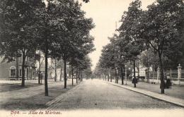 BELGIQUE - LIEGE - SPA - Allée Du Marteau. - Spa