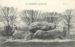 PIE-17-P.T. 8115 :   MEUDON. DOLMEN - Dolmen & Menhirs