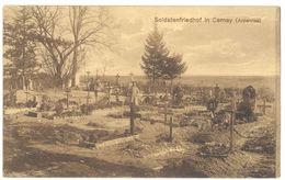 Cpa Cernay ( Ardennes ) - Soldatenfriedhof ( Cimetière / Tampon Au Verso ) - France