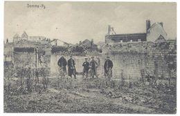 Cpa Somme - Py ( Militaires, Guerre, Ww1 / Voir Tampon Au Verso ) - France