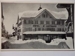Hotel St Gotthard Andermatt. - UR Uri