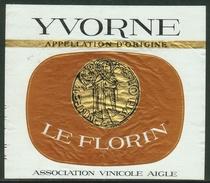 Rare // Etiquette // Yvorne, Le Florin, Association Vinicole Aigle, Vaud Suisse - Etiquettes