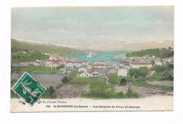 CPA 83 SAINT MANDRIER LA SEYNE Vue Générale De Creux Saint Georges ( Carte Colorisée ) - Saint-Mandrier-sur-Mer
