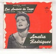 45 TOURS AMALIA RODRIGUES DU FILM LES AMANTS DU TAGE COLUMBIA ESRF 1034 BARCO NEGRO / SOLIDAO / FALLASTE CORAZON + 1 - Soundtracks, Film Music